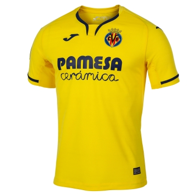 VILLAREAL AUTHENTIC MATCH HOME SHIRT 2019-20