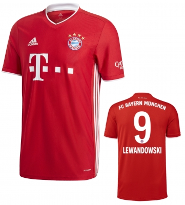 BAYERN MUNICH LEWANDOWSKI HOME SHIRT 2020-21