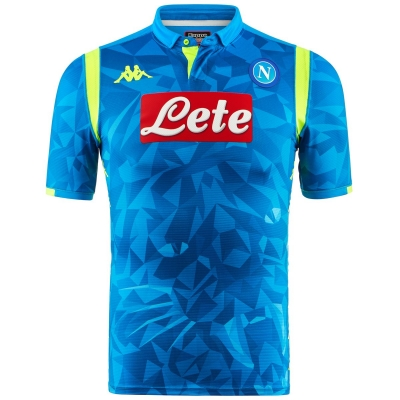 SSC NAPOLI MAGLIA AUTENTICA GARA CHAMPION'S LEAGUE 2018-19