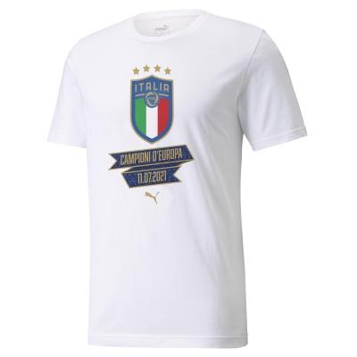 ITALIA FIGC T-SHIRT CELEBRATIVA EUROPEO 2021 consegna 29 Luglio