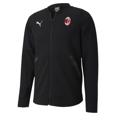 AC MILAN FULL ZIP COTTON SWEAT 2020-21