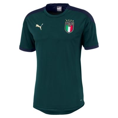 ITALIA FIGC TRAINING JUNIOR GREEN SHIRT 2019-20