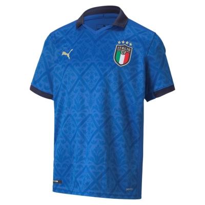 ITALIA FIGC JUNIOR HOME SHIRT 2020-21