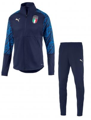 ITALIA FIGC TUTA PRESENTAZIONE BLU 2019-21