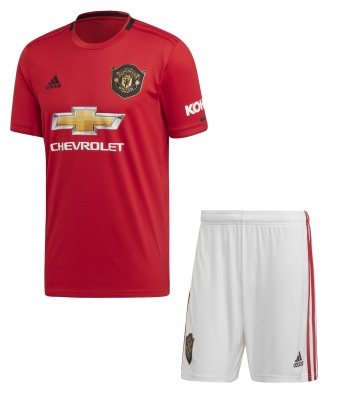 MANCHESTER UNITED JUNIOR HOME KIT 2019-20