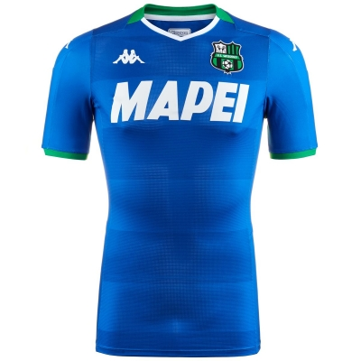 SASSUOLO AUTHENTIC MATCH 3RD BLUE SHIRT 2019-20