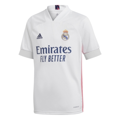 REAL MADRID JUNIOR HOME SHIRT 2020-21
