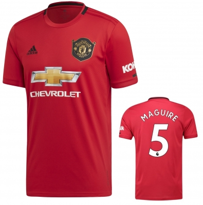 MANCHESTER UNITED MAGUIRE HOME SHIRT 2019-20