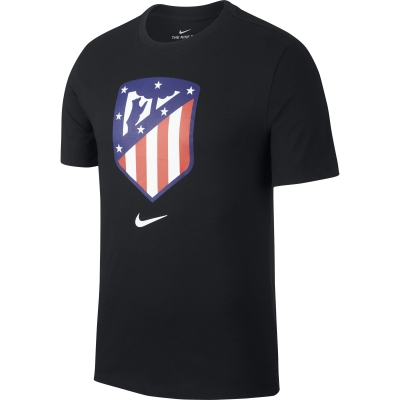 ATLETICO MADRID T-SHIRT NERA 2018-19