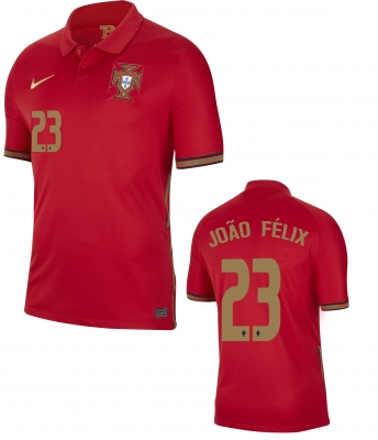 PORTUGAL JOAO FELIX JUNIOR HOME SHIRT 2020-21