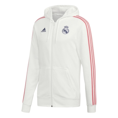 REAL MADRID FELPA CAPPUCCIO ZIP 2020-21