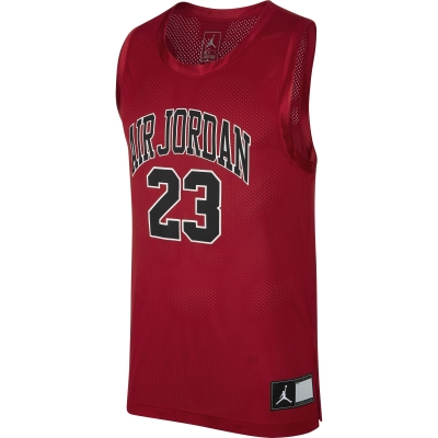 JORDAN DNA DISTORTED RED SLEEVELESS