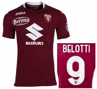 FC TORINO MAGLIA BELOTTI GARA HOME 2020-21