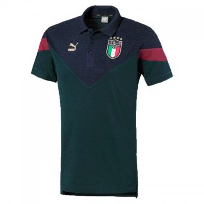ITALIA FIGC POLO FAN VERDE 2019-20