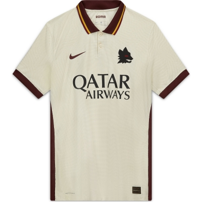 AS ROMA AUTHENTIC MATCH VAPOR AWAY SHIRT 2020-21