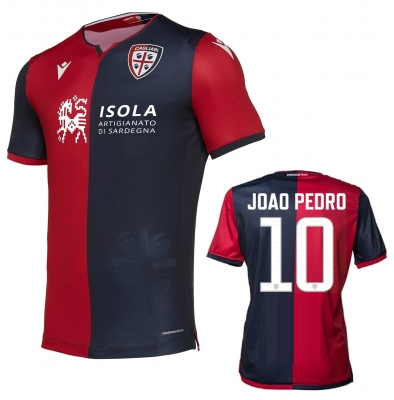 CAGLIARI JOAO PEDRO AUTHENTIC MATCH SHIRT 2019-20