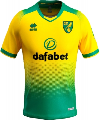 NORWICH AUTHENTIC HOME SHIRT 2019-20