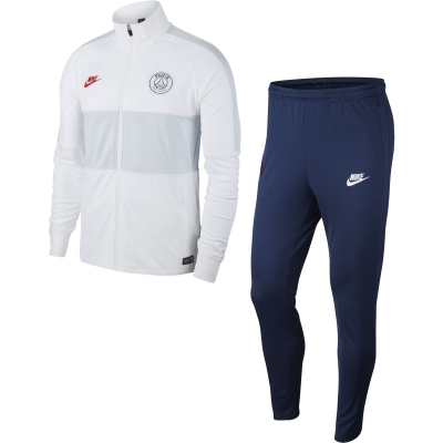PSG JUNIOR WHITE TRACKSUIT 2019-20