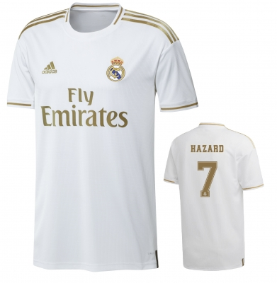 REAL MADRID HAZARD JUNIOR HOME SHIRT 2019-20