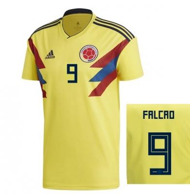COLOMBIA MAGLIA FALCAO HOME 2017-19