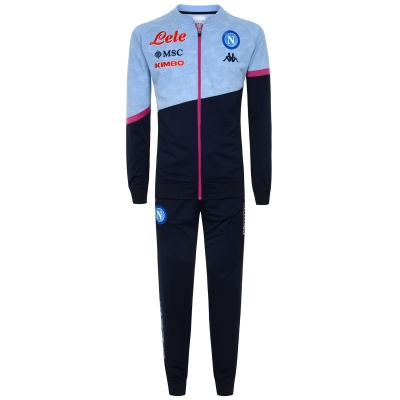 SSC NAPOLI FULL ZIP POLY TRACKSUIT 2020-21
