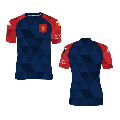 GENOA T-SHIRT FAN BLU 2019-20