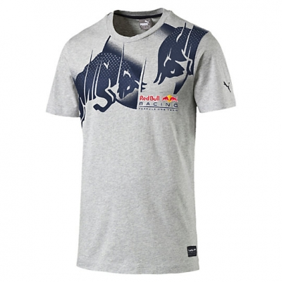 RED BULL T-SHIRT GRIGIA