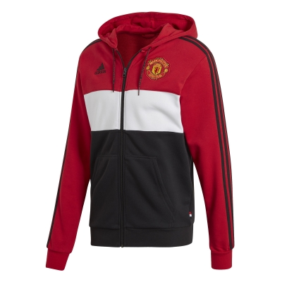 MANCHESTER UNITED HOODY FULL ZIP SWEAT 2019-20