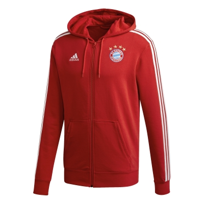 BAYERN MUNICH FULL ZIP HOODY SWEAT 2020-21