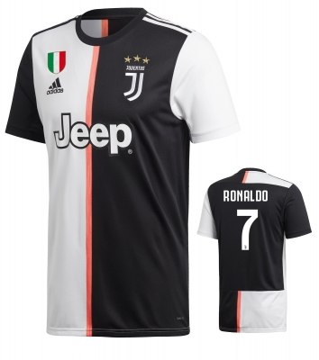 JUVENTUS RONALDO JUNIOR HOME SHIRT 2019-20
