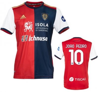 CAGLIARI JOAO PEDRO HOME SHIRT 2020-21