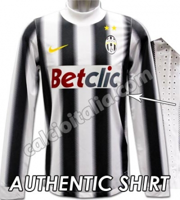 AUTHENTIC HOME SHIRT long sleeves