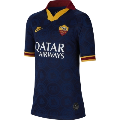 AS ROMA 3RD NAVY JUNIOR SHIRT 2019-20