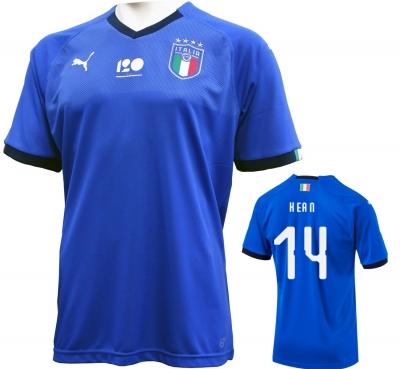 ITALIA FIGC MAGLIA 120 ANNI KEAN 2018-19
