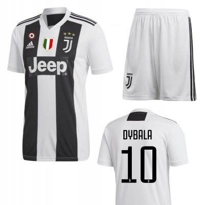 JUVENTUS COMPLETO DYBALA JUNIOR HOME KIT 2018-19