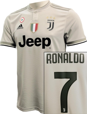 JUVENTUS AWAY RONALDO SHIRT 2018-19