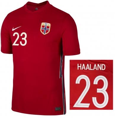 NORWAY HAALAND HOME SHIRT 2020-21