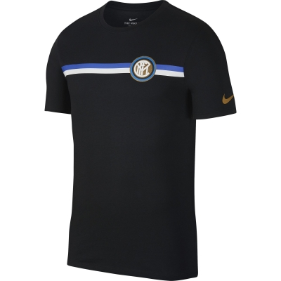 INTER T-SHIRT RIGATA NERA 2018-19