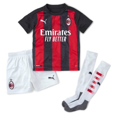 AC MILAN MINIKIT HOME 2-6 years 2020-21