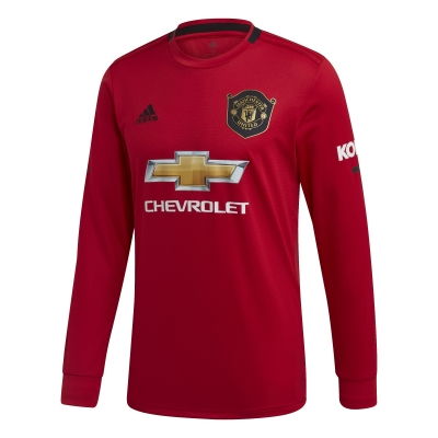 MANCHESTER UNITED HOME SHIRT long sleeves 2019-20