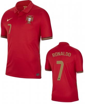 PORTUGAL RONALDO JUNIOR HOME SHIRT 2020-21
