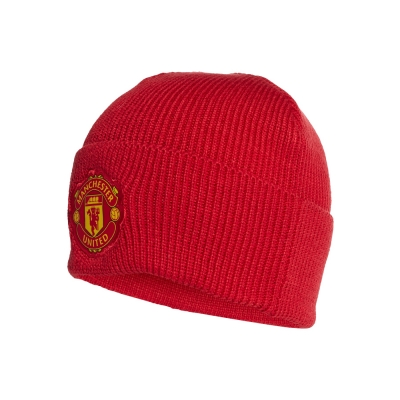 MANCHESTER UNITED RED BEANIE 2020-21