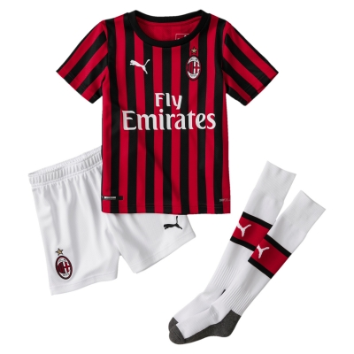 AC MILAN MINIKIT HOME 2-6 years 2019-20