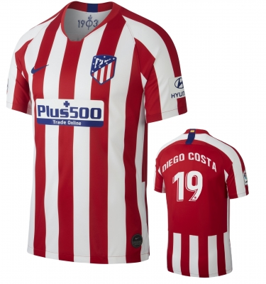 ATLETICO MADRID DIEGO COSTA HOME SHIRT 2019-20