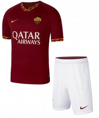 AS ROMA JUNIOR HOME KIT 8-15 years 2019-20