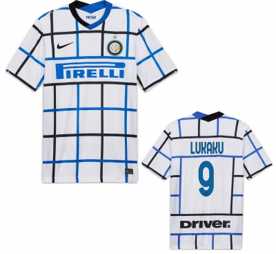 INTER LUKAKU AWAY SHIRT 2020-21