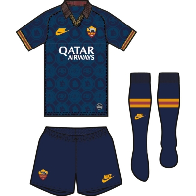 AS ROMA LITTLEBOYS 3RD KIT 2019-20