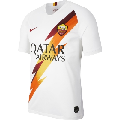 AS ROMA AWAY WHITE SHIRT 2019-20