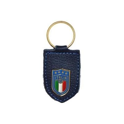 ITALIA FIGC PORTACHIAVI in PELLE