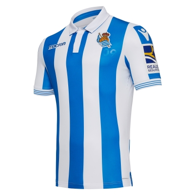 REAL SOCIEDAD AUTHENTIC HOME SHIRT 2018-19